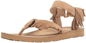 Teva Women's W Original Leather Fringe Sandal