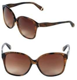 Zac Posen Anita 58MM Square Sunglasses