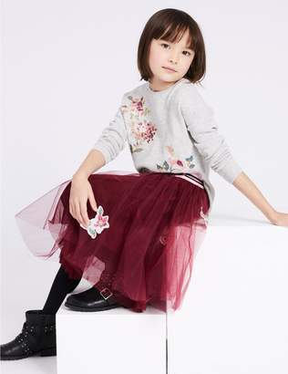Marks and Spencer Embroidered Tutu (3-16 Years)