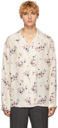 Kenzo Beige Cheongsam Shirt