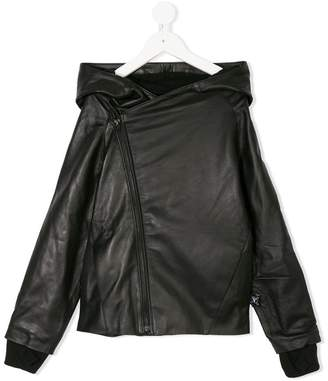 Nununu side fastening jacket