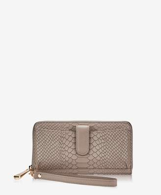 GiGi New York City Wallet Embossed Python