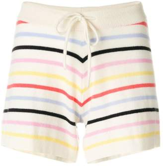 Parker Chinti & striped short shorts