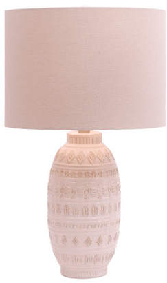 24.5in Reactive Ceramic Table Lamp