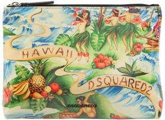 DSQUARED2 Hawaii Printed Clutch