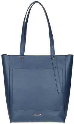 Rebecca Minkoff Shopping Star In Blue Leather
