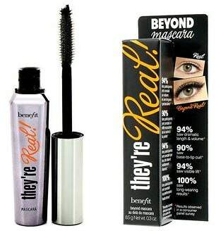 Benefit Cosmetics NEW They're Real Beyond Mascara (Black) 8.5g/0.3oz Womens Makeup