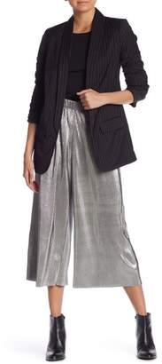 Kensie Metallic Accordion Pants