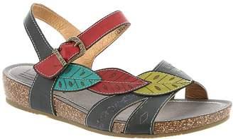 Spring Step L'Artiste by Women's Kukonda Quarter Strap Sandal Size 38 M