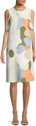 Lafayette 148 New York Kaydence Landscape Expression Shift Dress