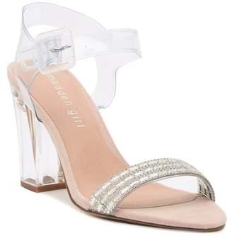 Madden-Girl Trena Ankle Strap Heeled Sandal