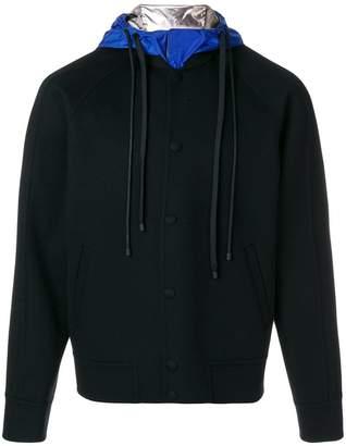 Valentino contrast hood streetwear jacket
