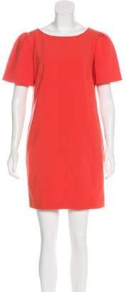Trina Turk Scoop Neck Mini Dress