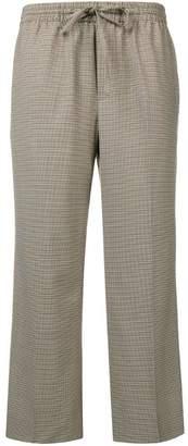 Miu Miu tweed cropped trousers
