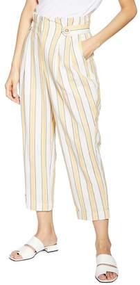Topshop Summer Stripe Peg Trousers