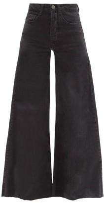 Raey Loon Wide Leg Jeans - Womens - Black