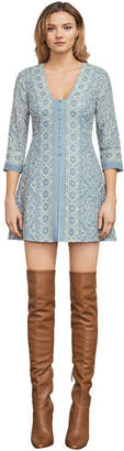 BCBGMAXAZRIA Jayde Embroidered Lace Dress
