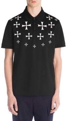 Neil Barrett Military Star Polo Shirt
