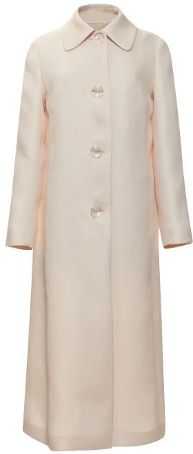 Rochas Ultra-Fine Stuoia Coat