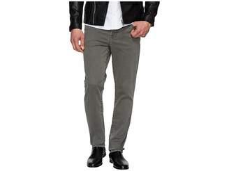 Liverpool Slim Straight Stretch Denim Jeans in Gunmetal
