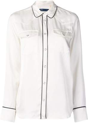 Levi's Made & Crafted western satin shirt