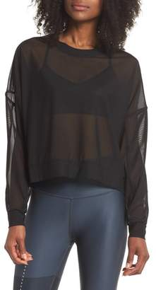 Alo Ambiance Sheer Pullover