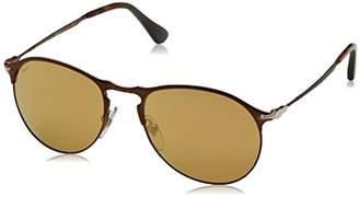 Persol Unisex-Adult's 7649 Sunglasses, Matte Brown 1072W4