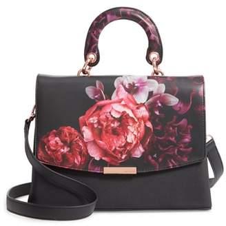 Ted Baker Splendour Lady Bag Faux Leather Top Handle Satchel