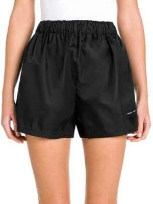 Prada Gabardine Nylon Shorts