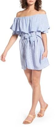 Women's Faithfull The Brand Amalfi Off The Shoulder Dress $149 thestylecure.com
