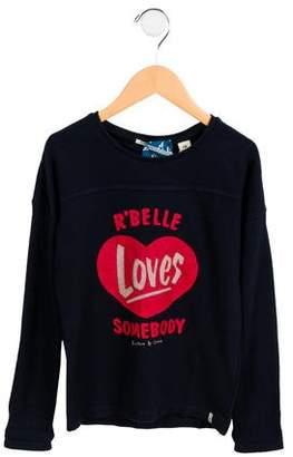 Scotch & Soda Boys' Printed Crew Neck Sweater w/ Tags