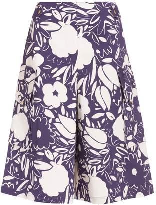 Suno Floral Print Culottes