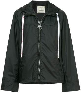 Miharayasuhiro big zip jacket