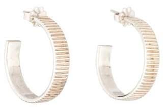 Tiffany & Co. Coin Edge Hoop Earrings