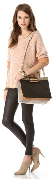 Marc by Marc Jacobs East End Colorblock Madame Hilli Bag