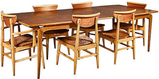 One Kings Lane Vintage Lane Furniture Dining Table & Chairs - 2-b-Modern