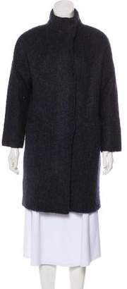 Rag & Bone Wool-Blend Knit Coat
