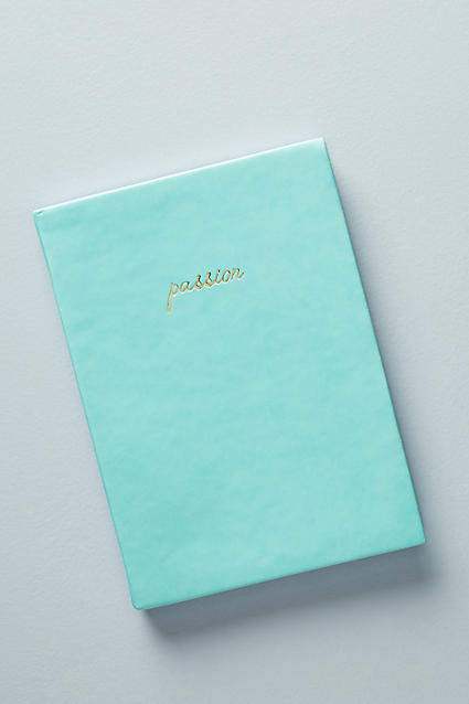 Anthropologie Passion Journal