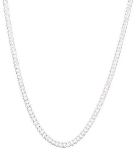 Sterling Silver Cuban-Link Chain