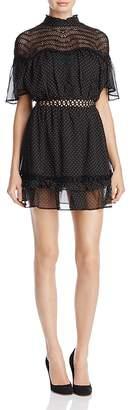 Talulah Swiss Dot Mini Dress $260 thestylecure.com
