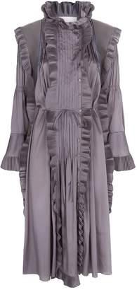 Chloé Extended Shoulder Coat