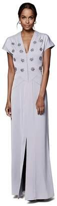 Phase Eight Smokey Lavender Hana Embellished Dress