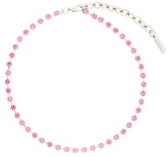We11done embellished short necklace