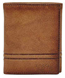 Fossil Watts Leather Trifold Wallet