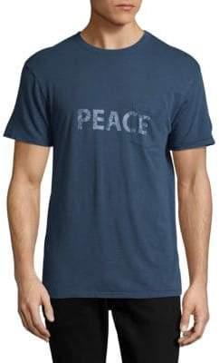 Zadig & Voltaire Peace Crewneck Tee