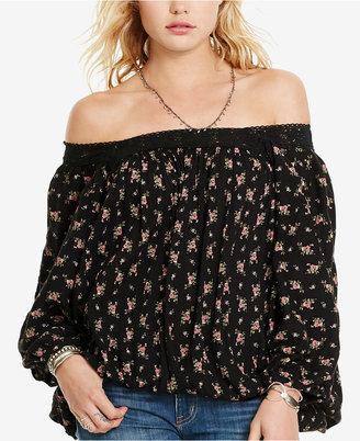 Denim & Supply Ralph Lauren Floral-Print Boho Blouse $125 thestylecure.com