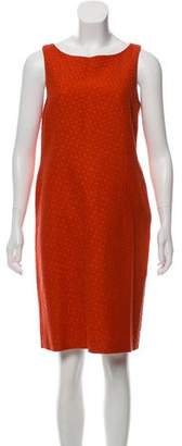 Agnona Sleeveless Mini Dress
