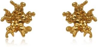 Karolina Bik Jewellery Coral Reef Earrings Gold