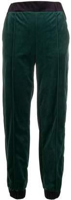 Emporio Armani color-block track pants