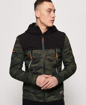 Superdry Softshell Camo Hybrid Jacket